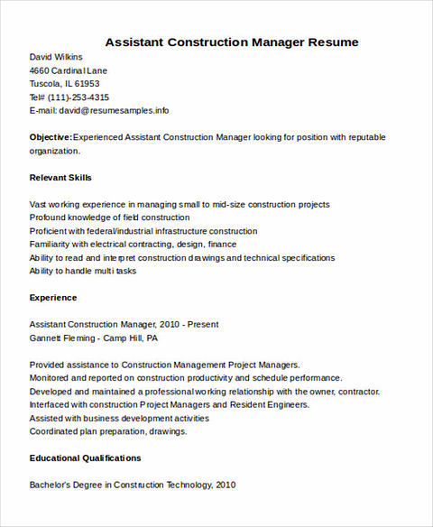 Civil Construction Cover Letters Sample Civil