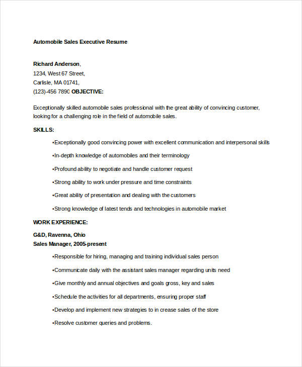 Senior Sales Executive Resume Incredible Account Executive Resume Samples  %Image Name
