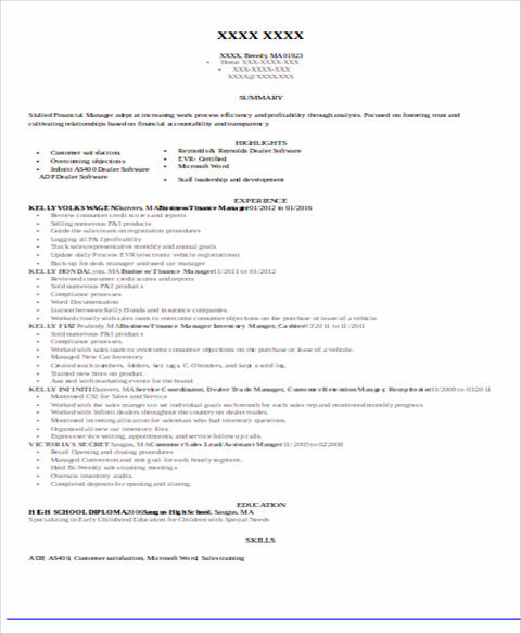 Accounts Payable Resume Sample And Tips