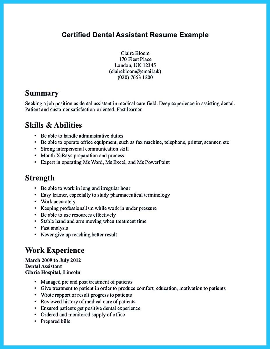 Certified-Dental-Assistant-Resume-Example-page-1