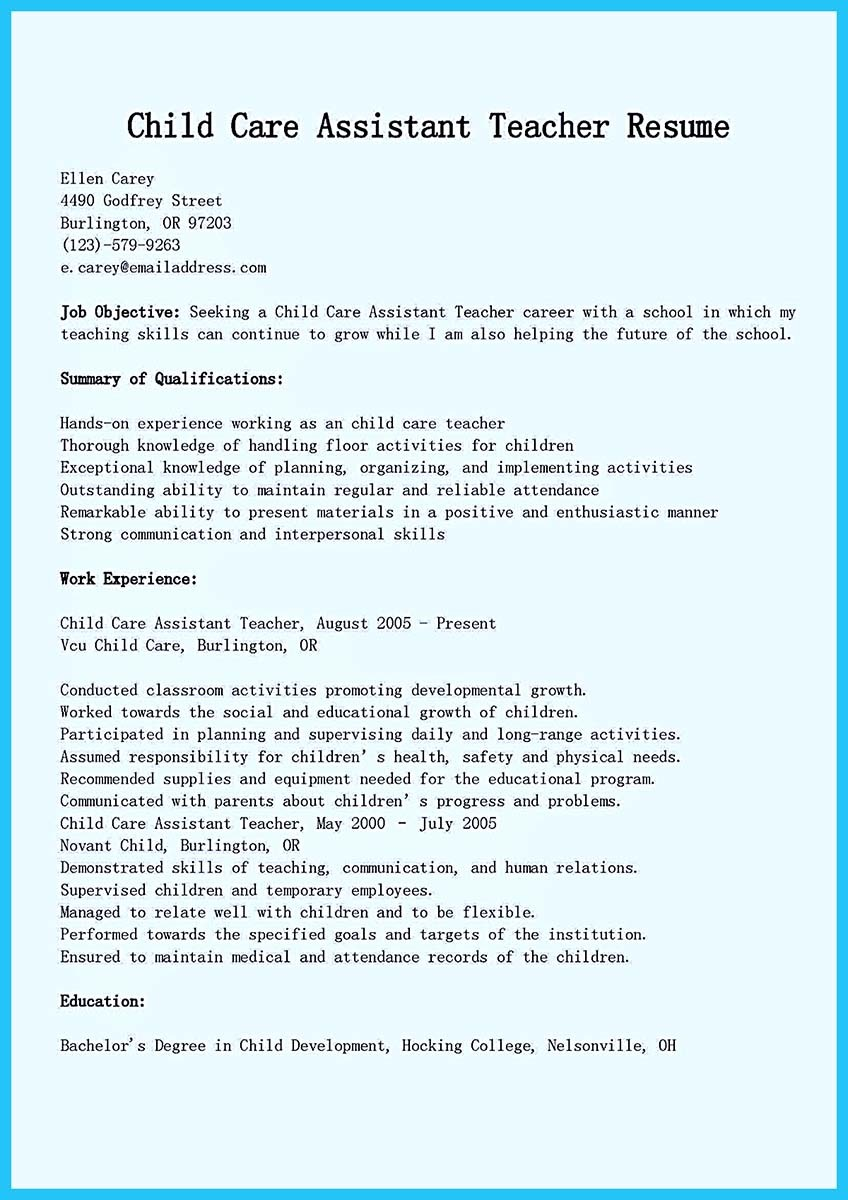 resume for assistant teacher simple human resources cover letter resume for assistant teacher grabbing your chance excellent assistant teacher resume grabbing your chance