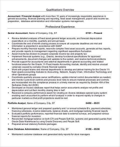 account receivable resume account good accounting resume skills