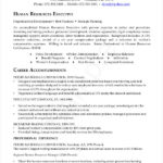 HR Executive Resume PDF