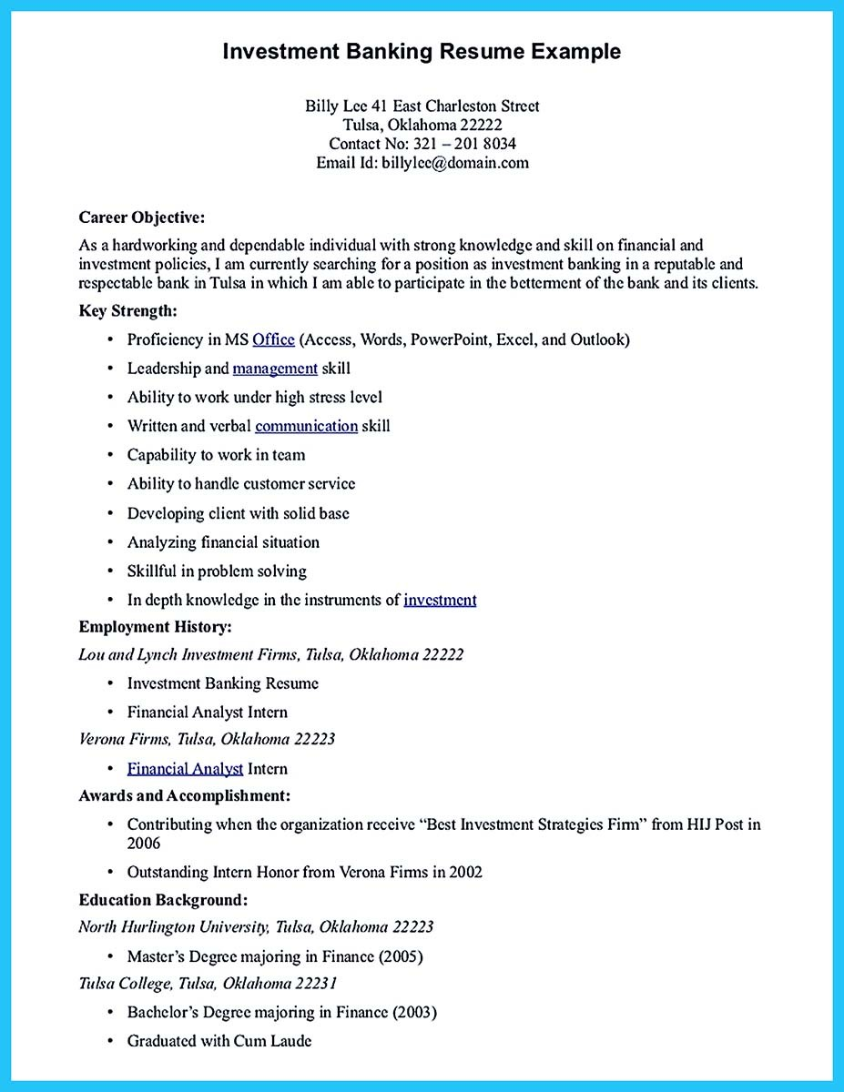 Investment-Banking-Resume-Example