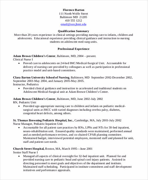 Nursing Student Resume Should Be Rightly Written And Made With The Right  Format, Simple Language But It Shows Your Professionalism And Commitment To  Get ...  Nursing Student Resume Clinical Experience