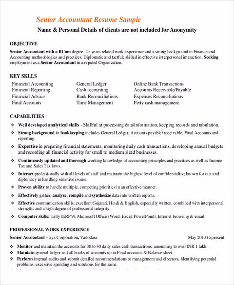 Perfect Accounts Receivable Resume To Get Hired Immediately
