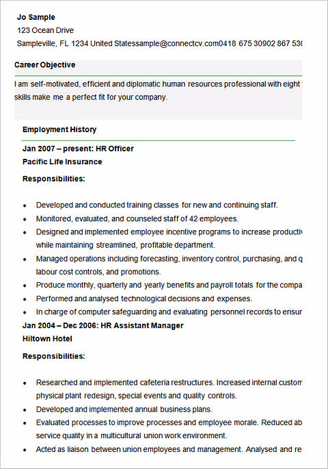ultimate guide to writing your human resources resume