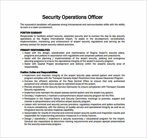tips to write your security officer resume