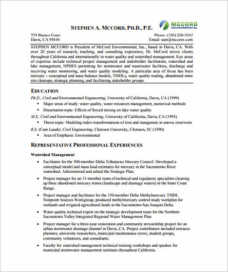 project manager resume sle and tips
