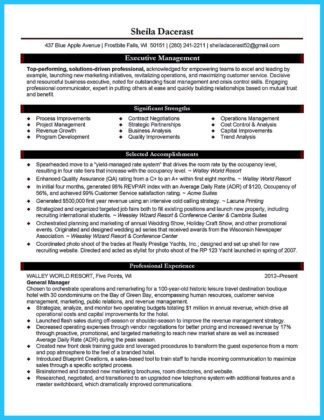 Make the Most Magnificent Business Manager Resume for Brighter Future  %Image Name