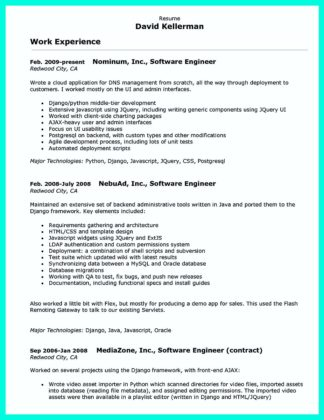 Computer Programmer Resume Examples to Impress Employers  %Image Name