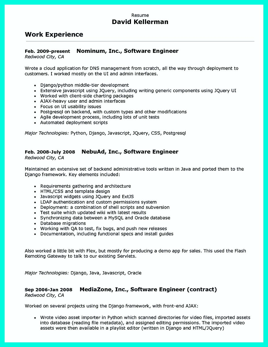 sample admin resume resume sample job cover letter how template carpinteria rural friedrich - Computer Programmer Cover Letter