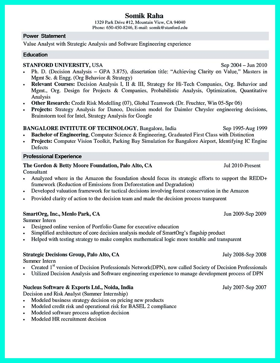 science resume - Scientific Resume Examples