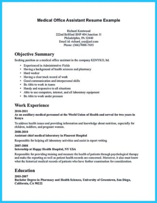 account assistant resume format in word