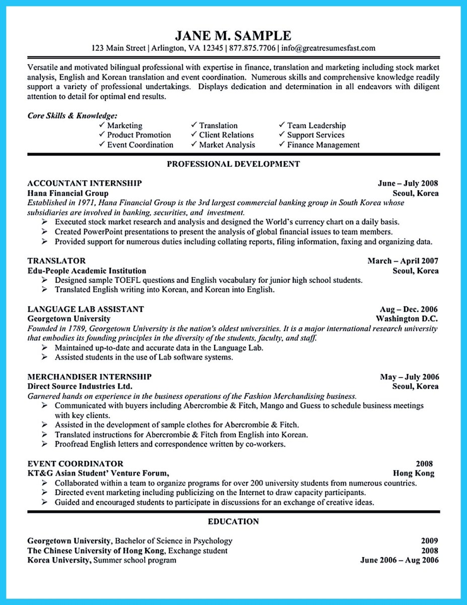 summary for accounting resume - North.fourthwall.co
