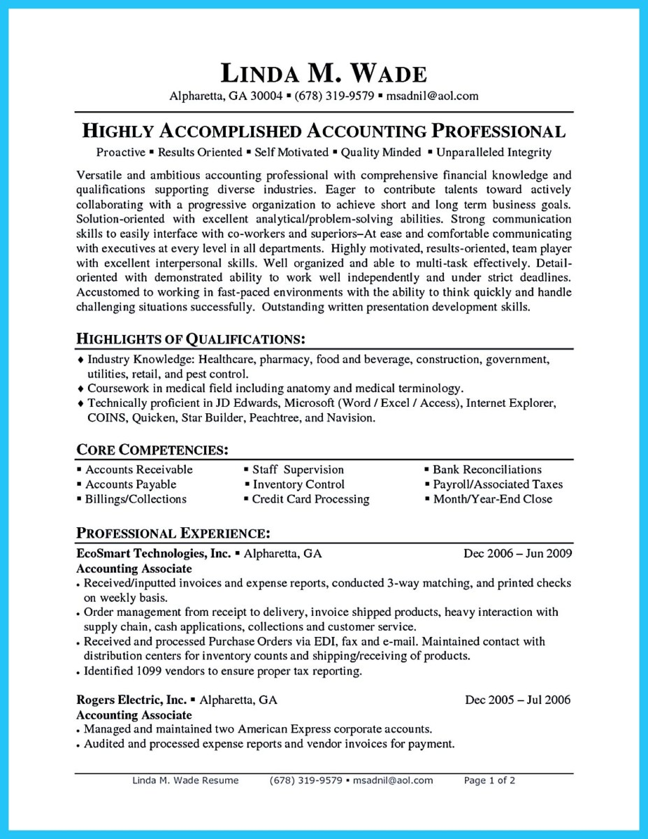 Financial Accountant Resume Template   Premium Resume Samples     Resume Resource