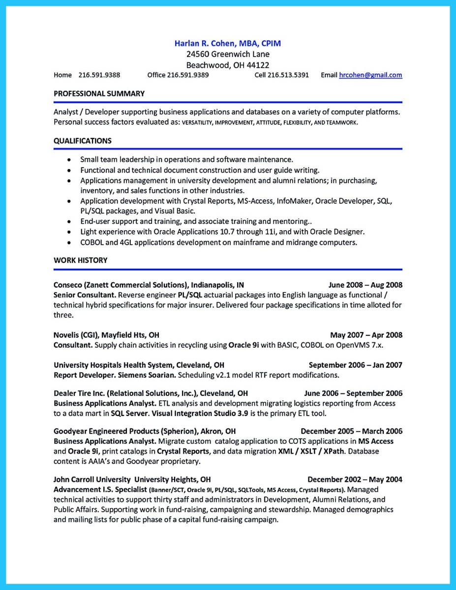 How To Write Professional Resume Template In Simple Steps  Account Receivable Resume