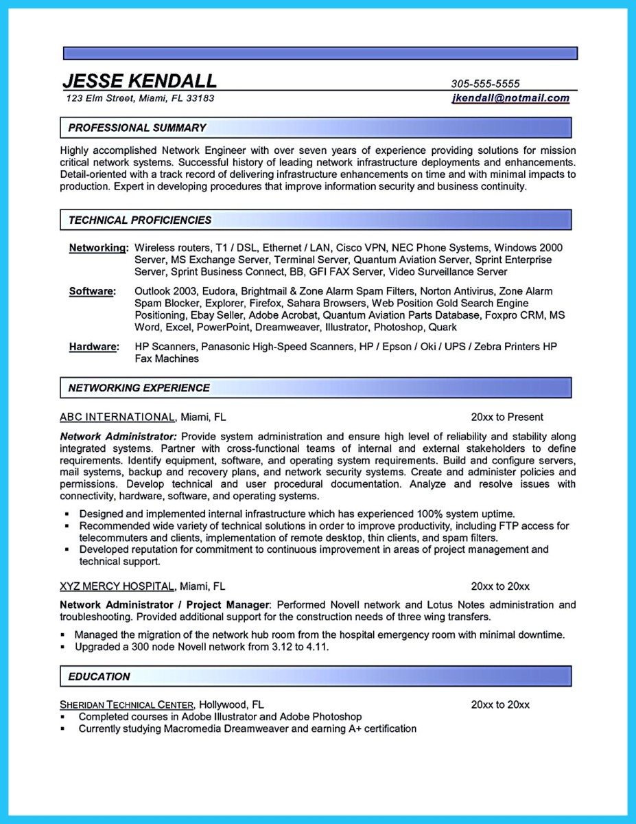 mid level resume