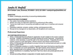 accounts receivable resume sample and accounts receivable resume summary