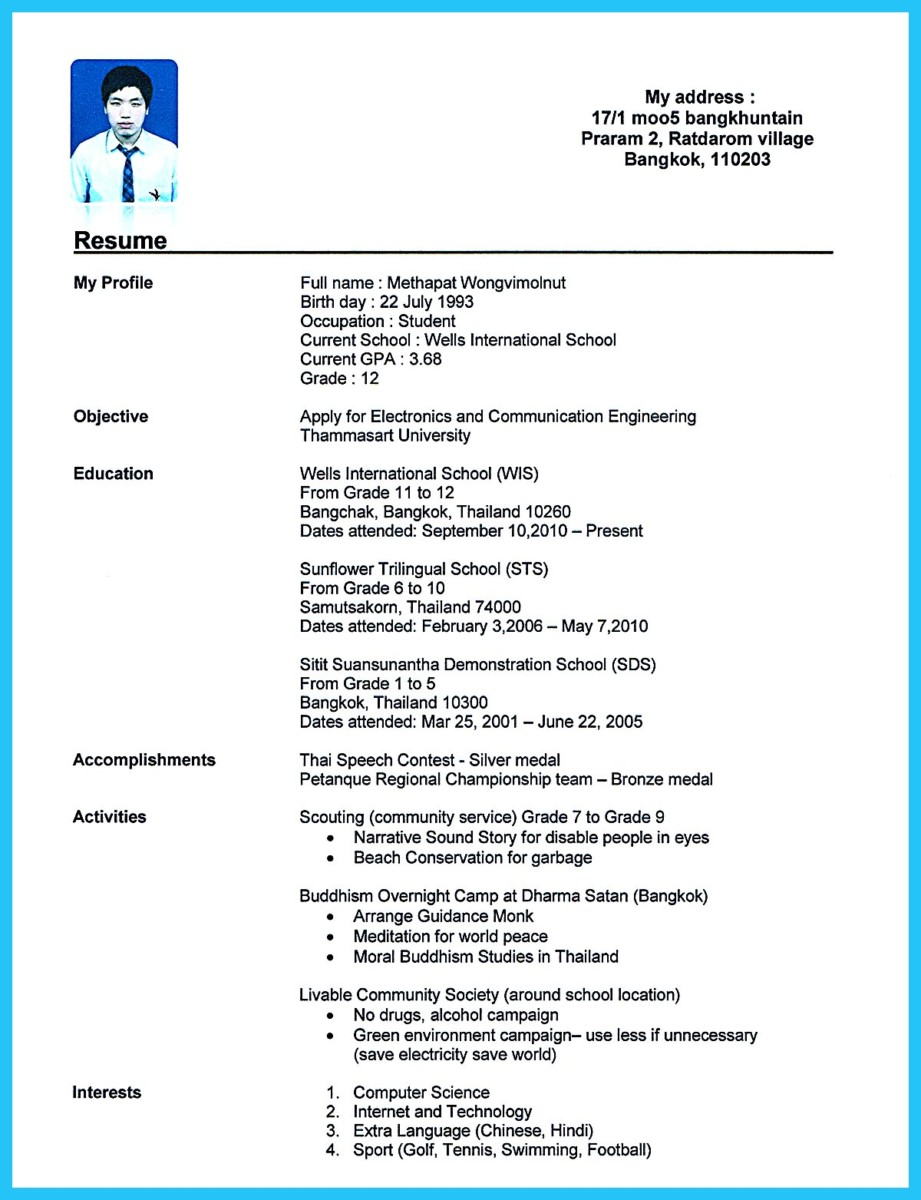 How To Write Professional Resume Template In Simple Steps  Theatrical Resume Template