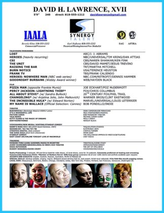 acting resume template word