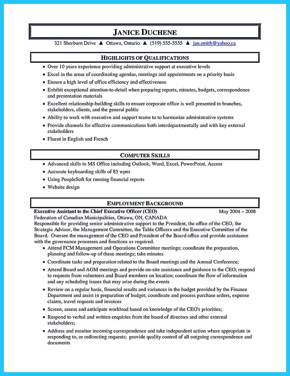 How To Write Professional Resume Template In Simple Steps  Resume Example For Administrative Assistant