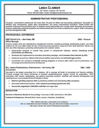 administrative assistant resume templates
