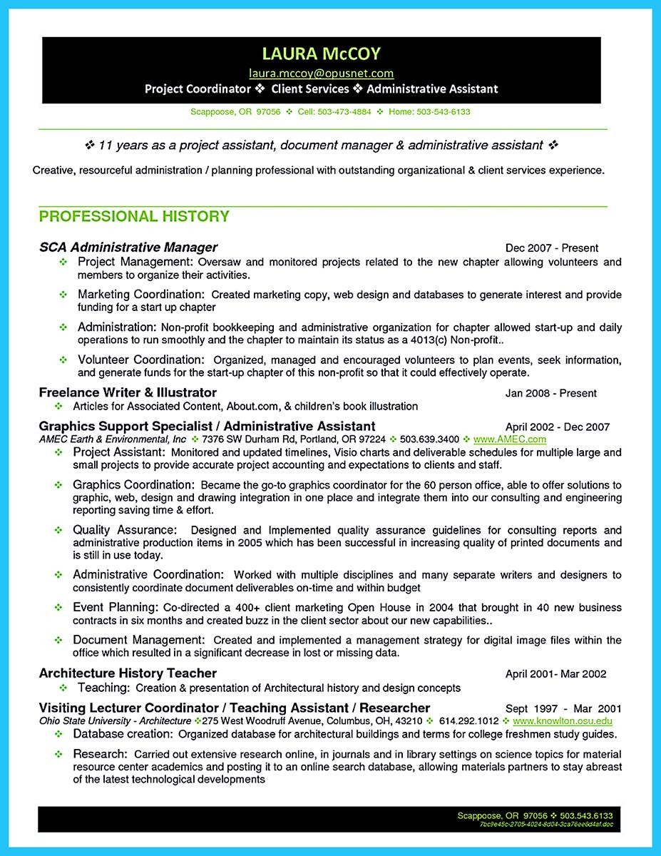 sample resume for project coordinator impressive professional administrative coordinator resume how impressive professional administrative coordinator