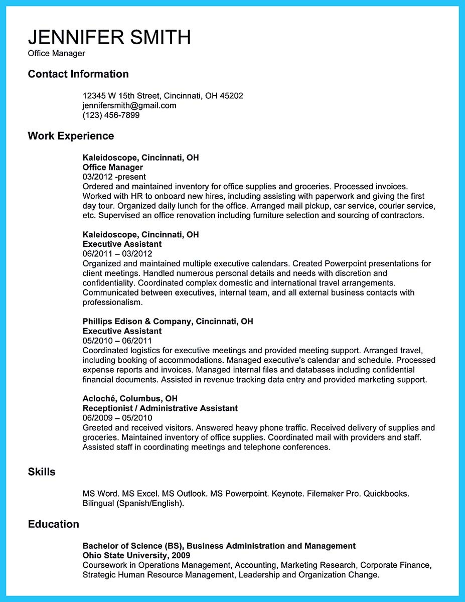 Snefci.org  Office Coordinator Resume