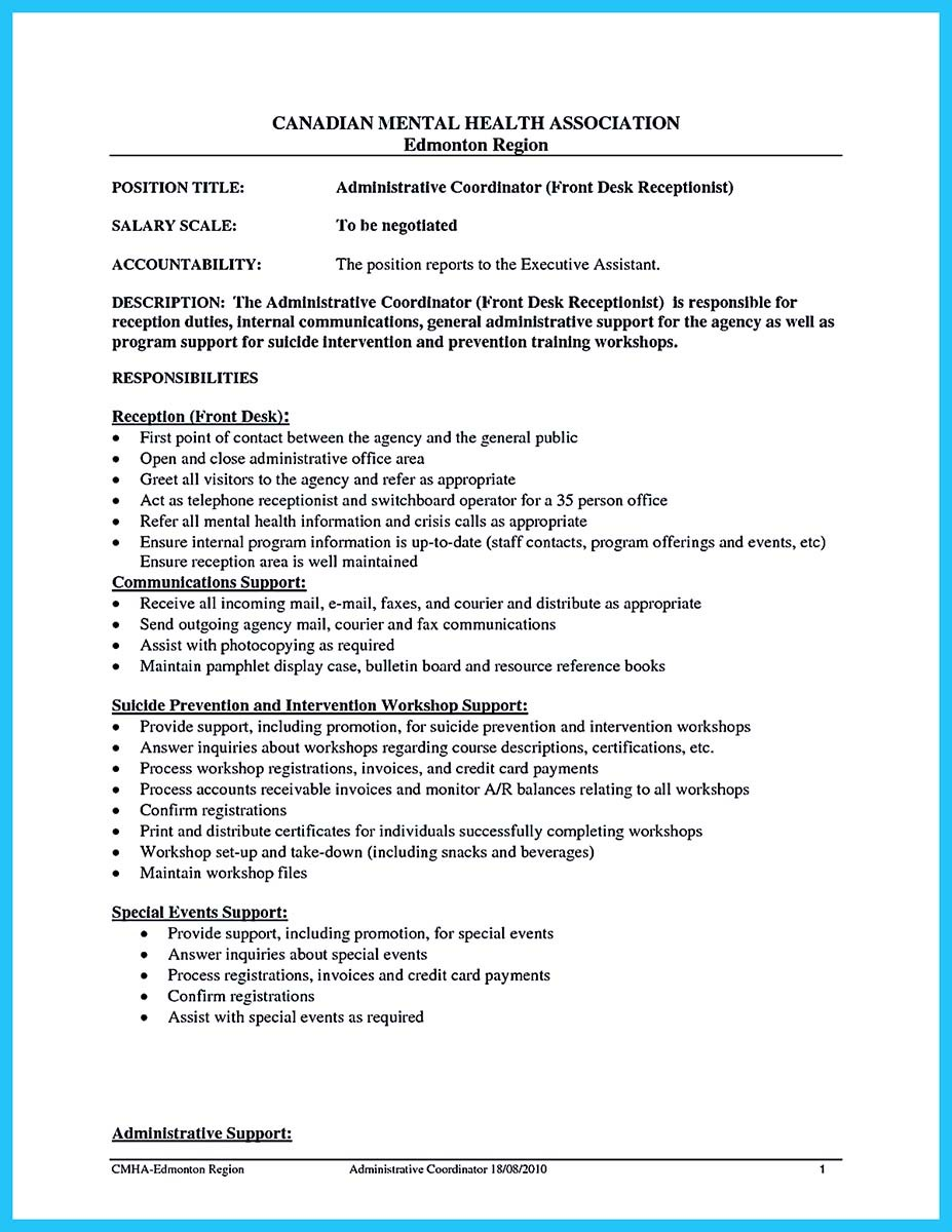 office coordinator resume sample resume coordinator resume slideshare