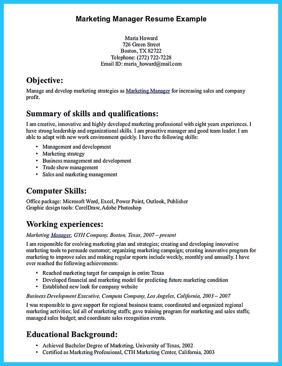 Contemporary Advertising Resume for New Job Seeker