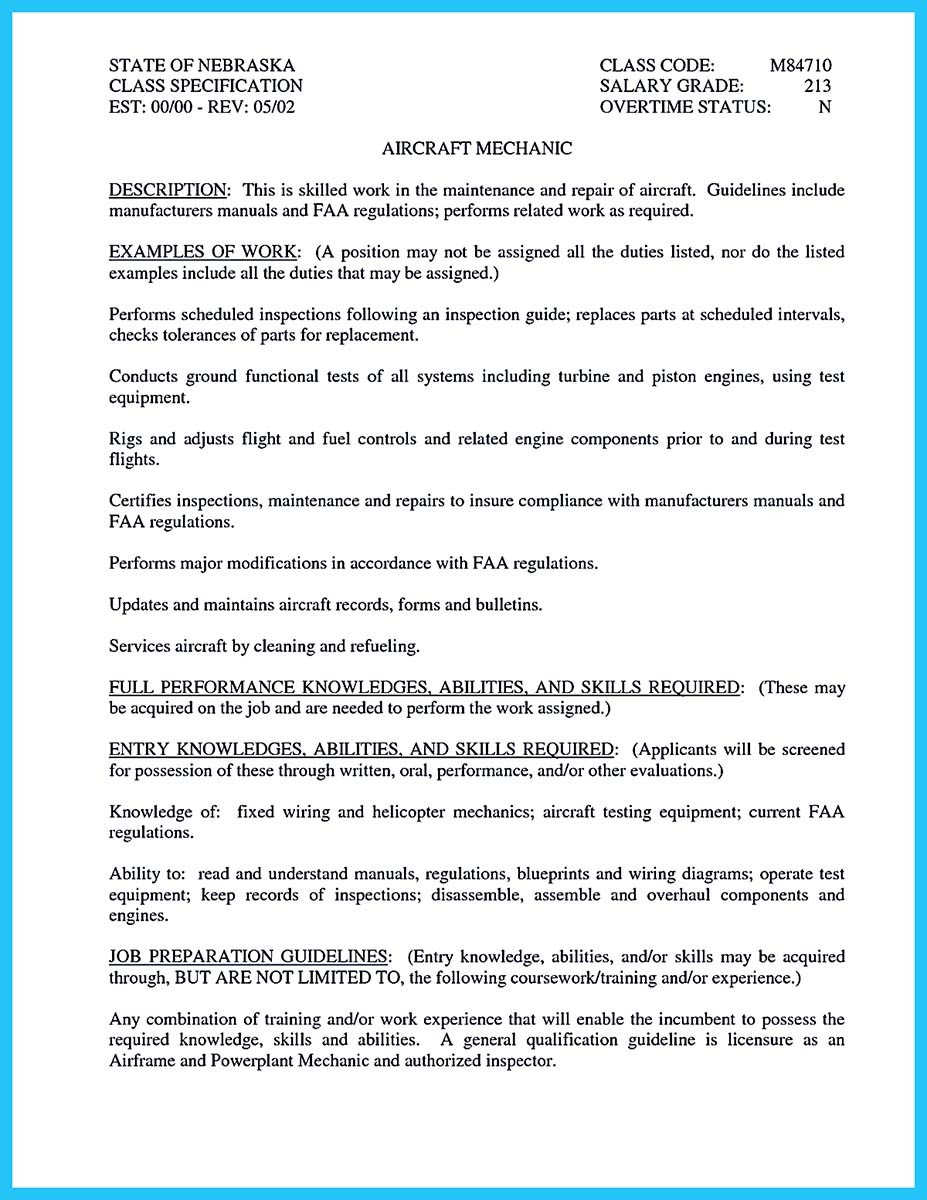 Free Contemporary Maintenance Technician Resume Template   ResumeNow