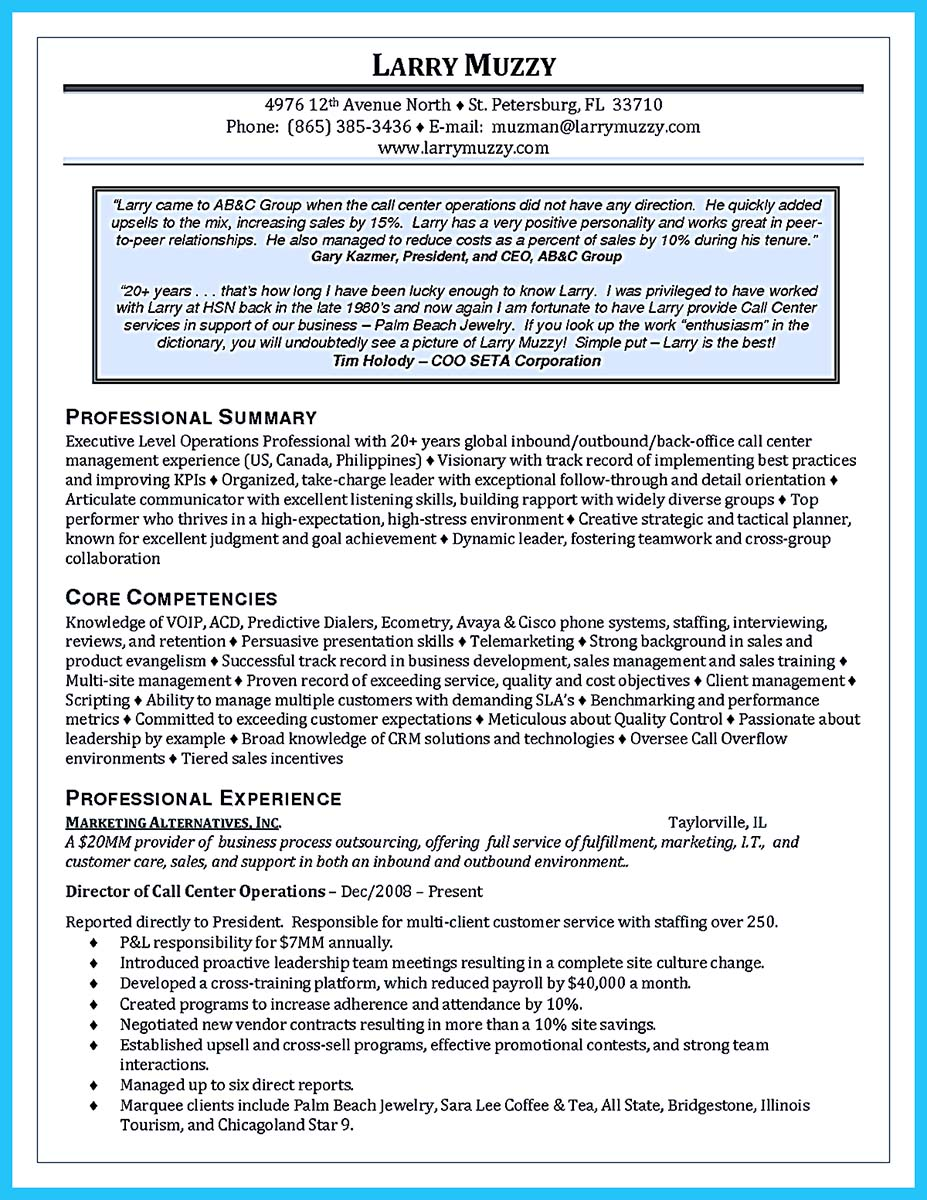 flawless call center resume how to write a resume in simple steps