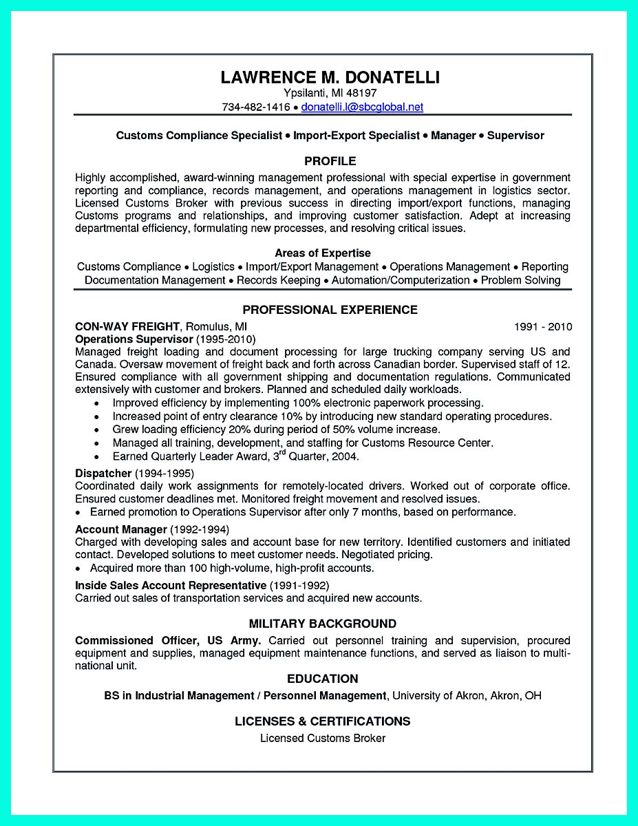 Best Compliance Officer Resume to Get Manager\'s Attention