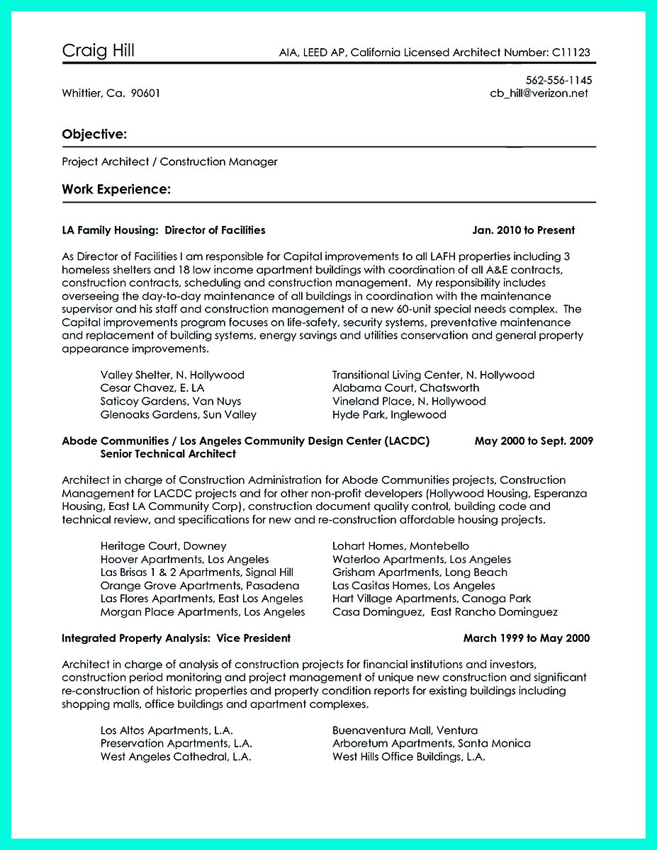 perfect construction manager resume to get approved how to write area construction manager resume