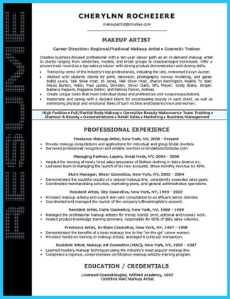 Artist Resume Template That Look Professional  %Image NameArtist Resume Template That Look Professional  %Image Name