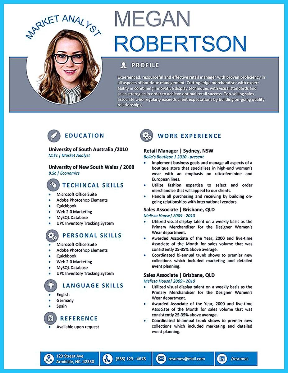 Artistic Resume Templates  TeachengUs