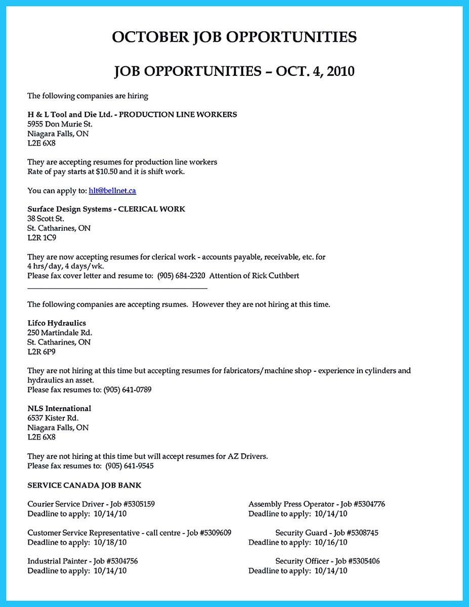 Assembly Line Worker Resume Sample  Job Description and