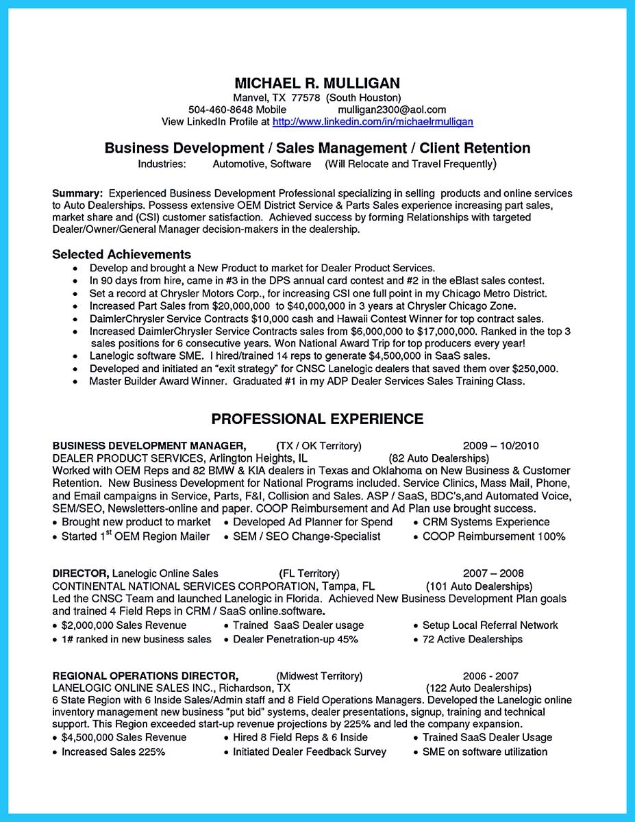 resume Business To Business Sales Resume Sample marvelous things to write best business development manager resume assistant resume