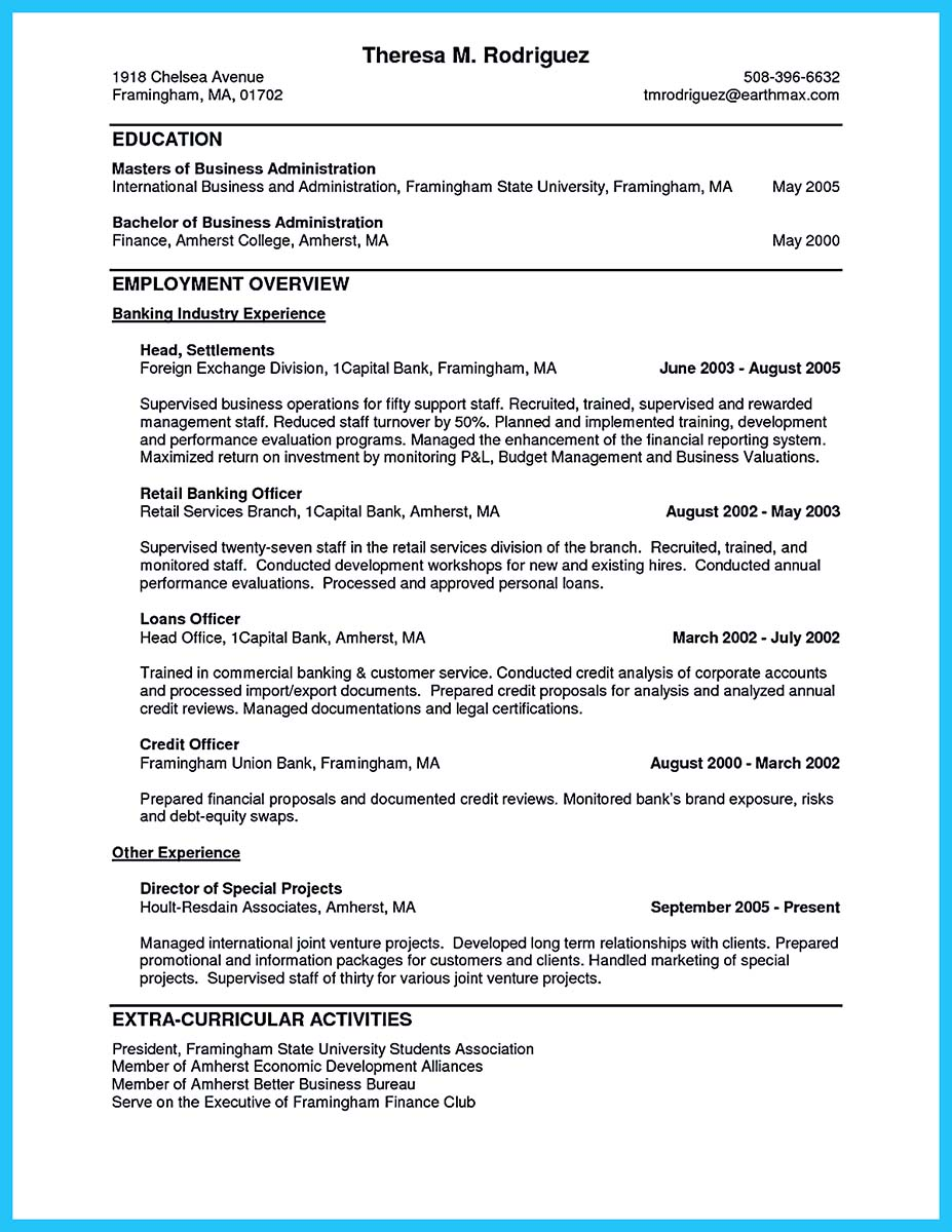 assistant database administrator resume