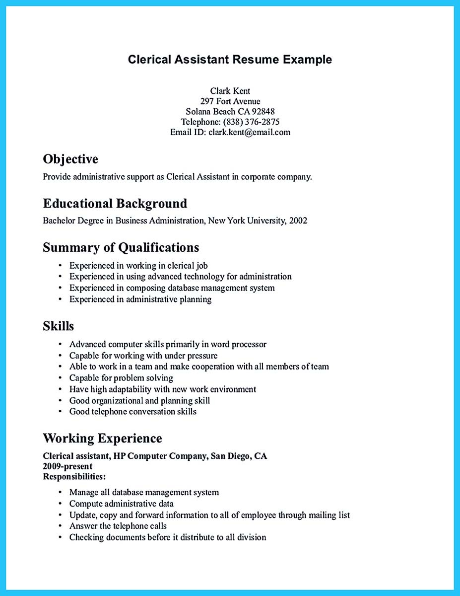 Accounting Assistant Resume Objective Examples Accounting Resumes Clerical  Resume Samples Payable Resumes Accounts Payable Resumes