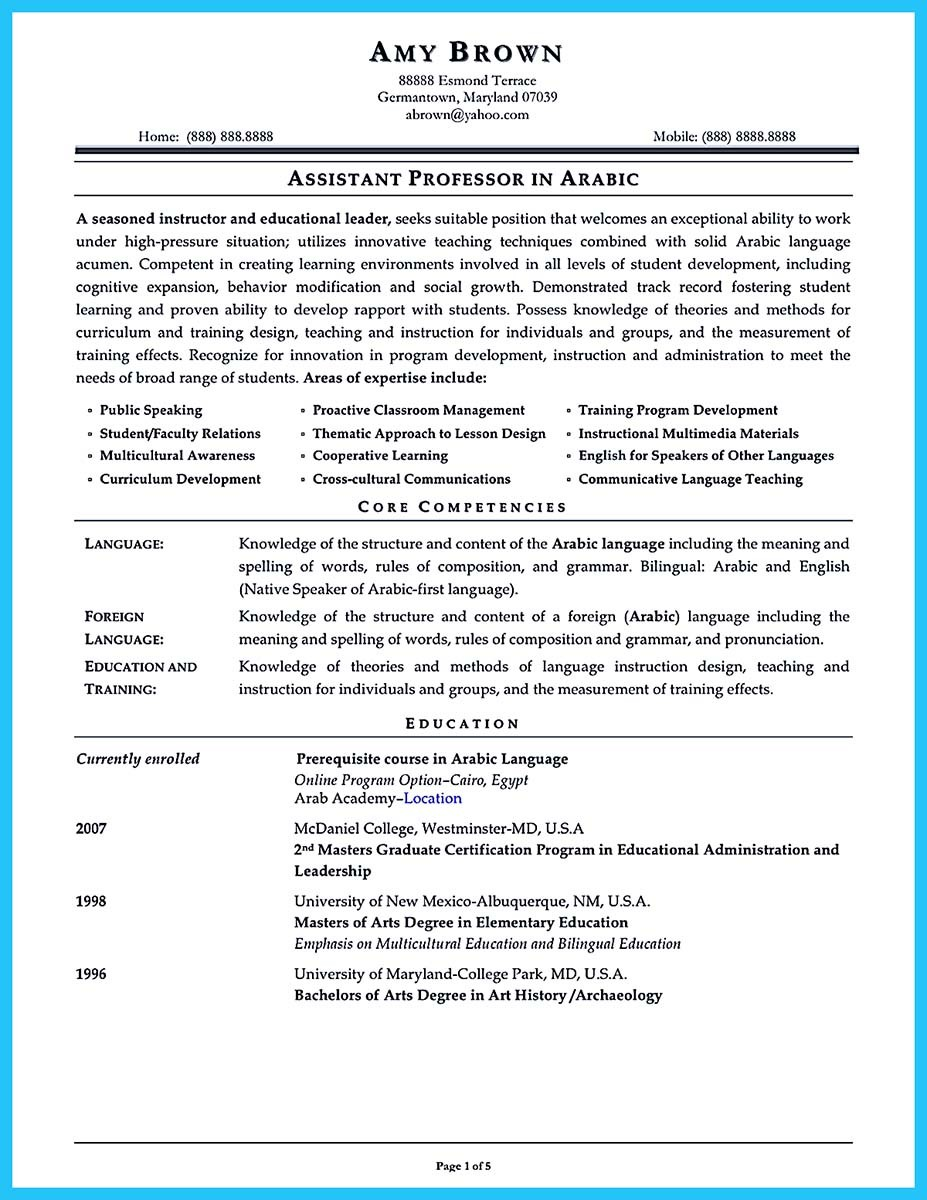 ... Assistant Principal Resume Samples ...  Resume For Assistant Principal