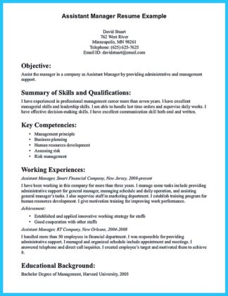 assistant property manager resume examples and resume objective for assistant property manager