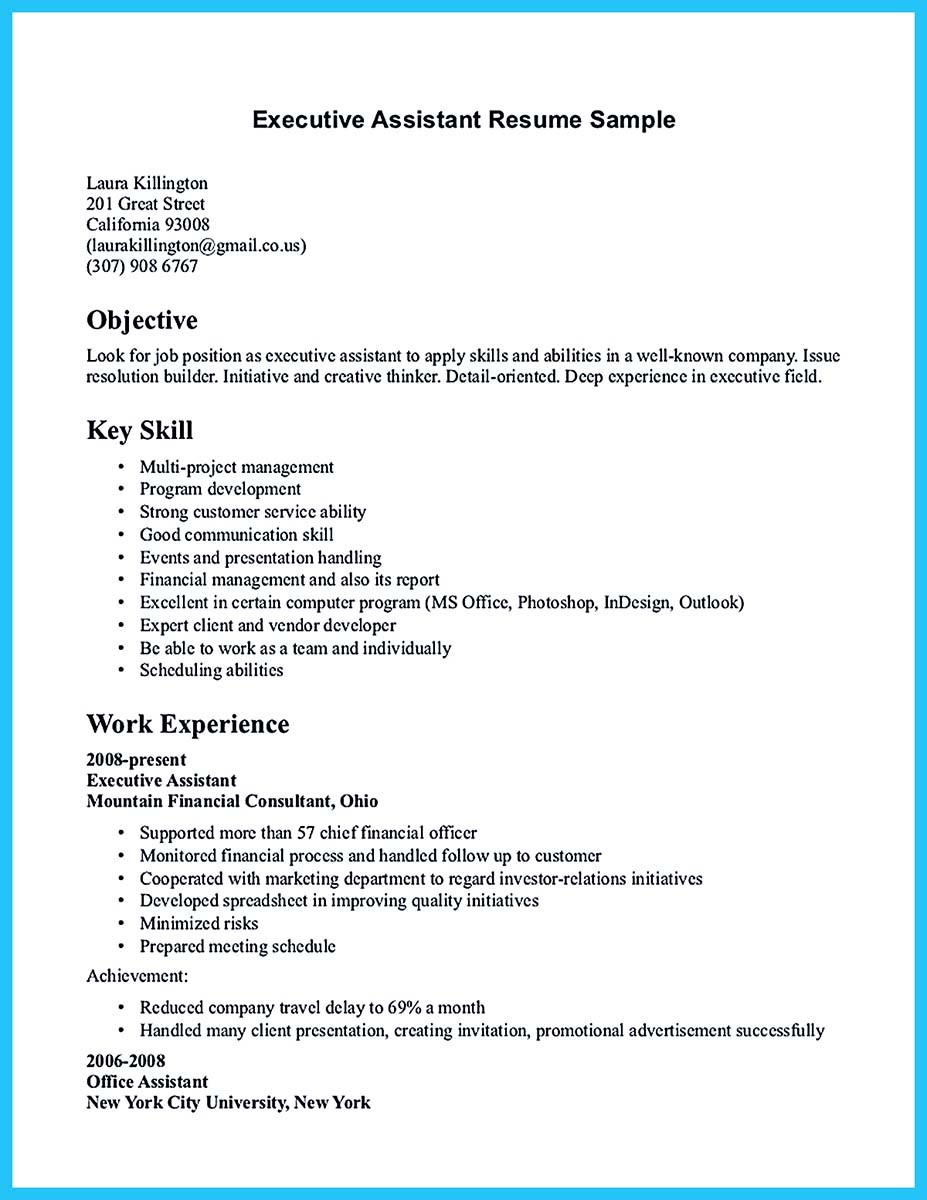 Assistant City Manager Resume  Assistant Manager Resume Sample