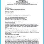 Athletic Trainer Resume Examplesathletic Training Resume Cover Letter