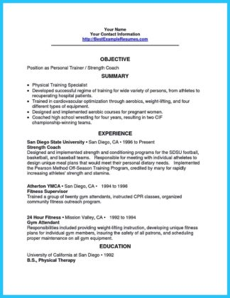 Writing Your Athletic Training Resume Carefully  %Image Name