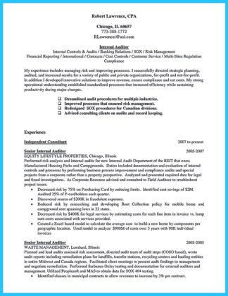 audit manager resume and tax auditor resume
