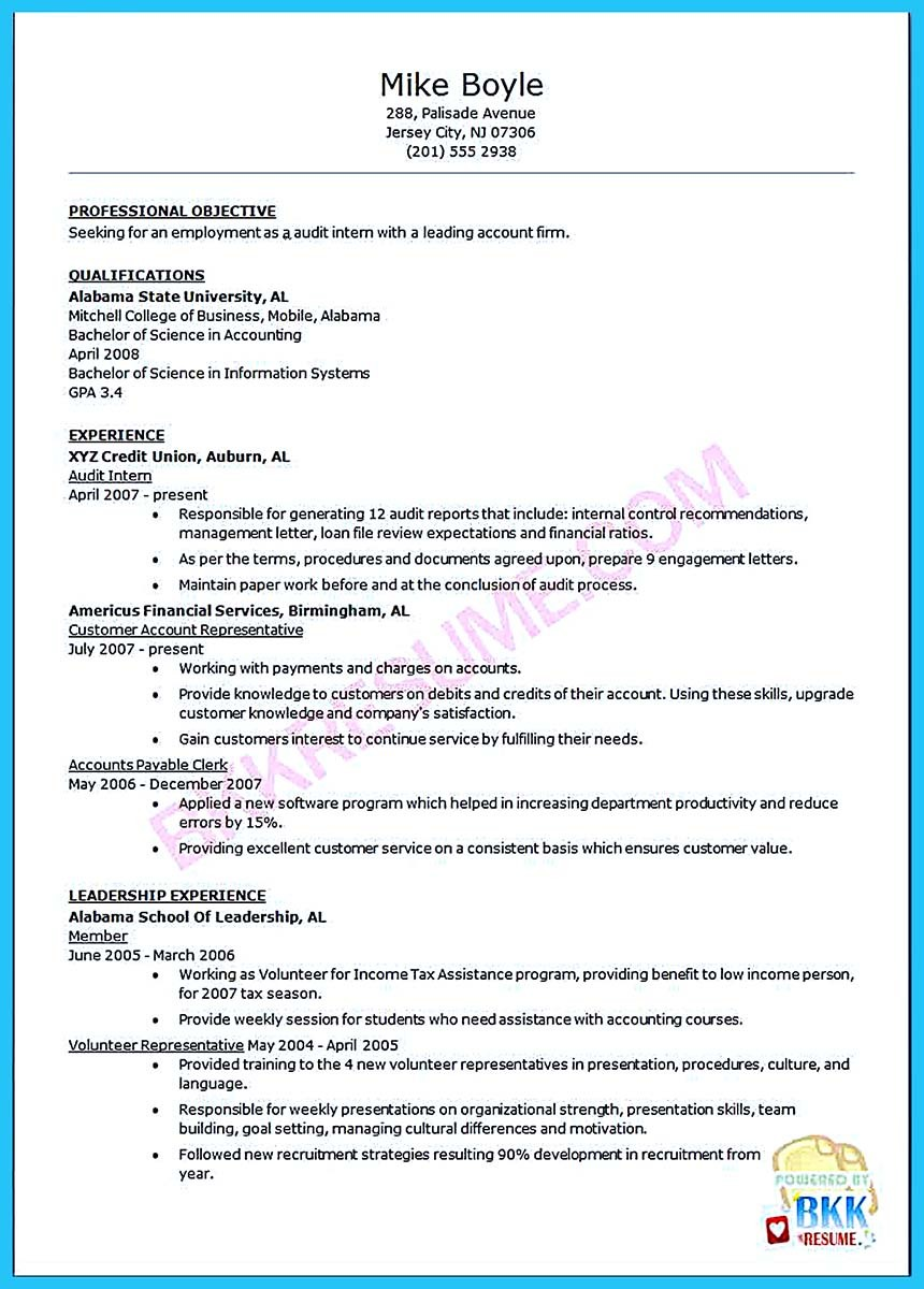 Night Auditor Resume