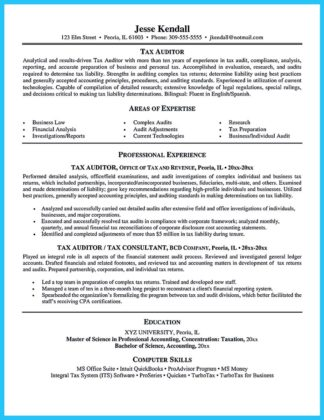 auditor resume sample and internal audit director resume
