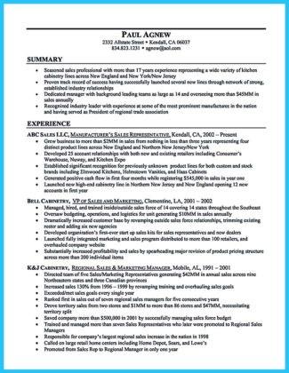 auto general sales manager resume